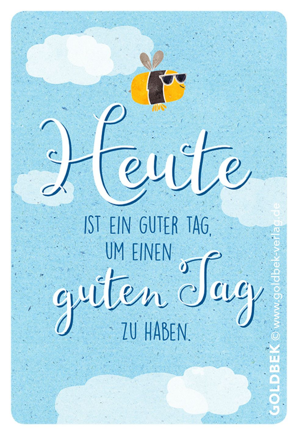 Postkarten   Humor. Verdammt coole Biene ;) | Probieren | Gute