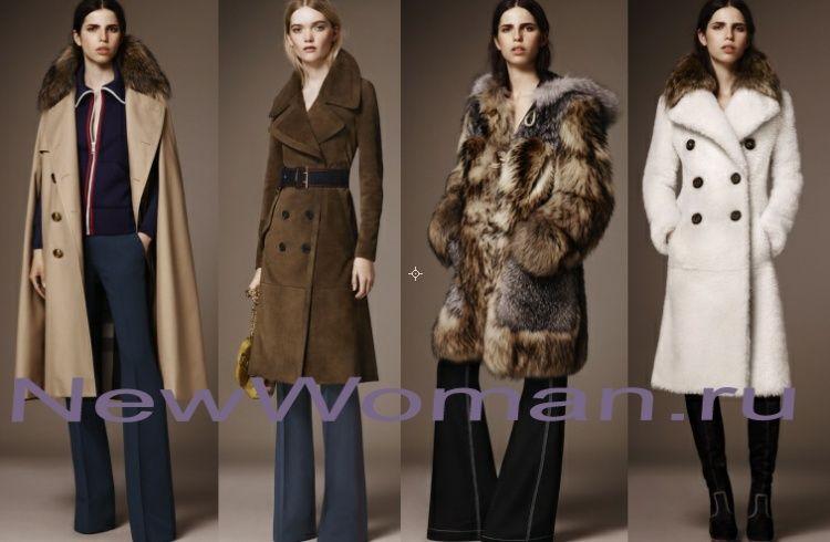 Модное женское пальто Осень Зима 2016 2017 - фото | Пальто ...