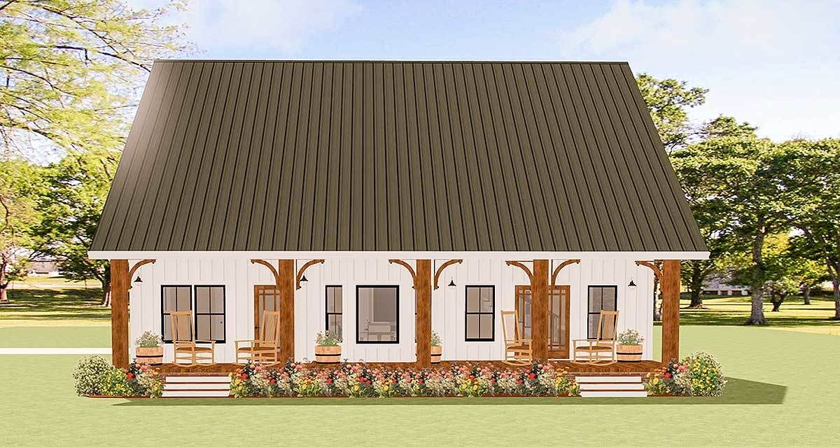 Charming Traditional House Plan with Options