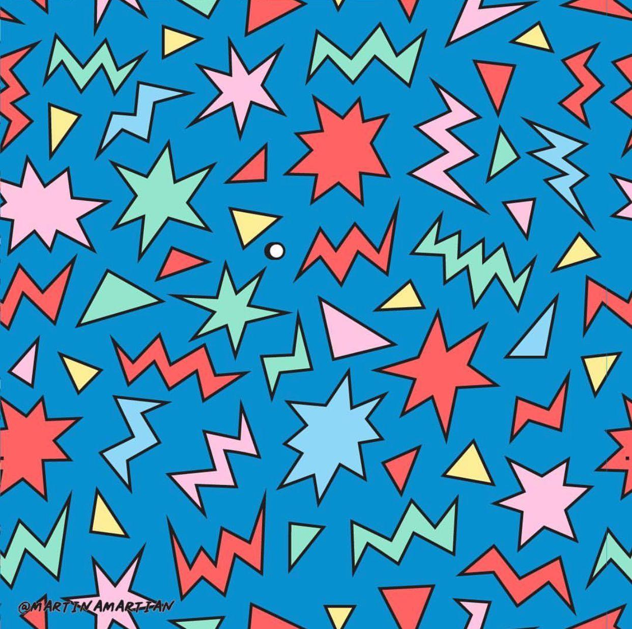 Repeat Pattern martinamartian Artsy background