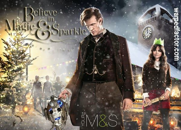 Ranking the DOCTOR WHO Christmas Specials   Warped Factor - Words in the Key of Geek.