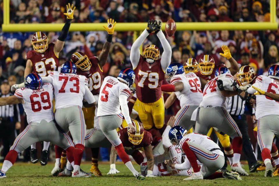 f3b90e9a From the sidelines: Giants vs. Redskins | GiantsNation | Giants vs ...