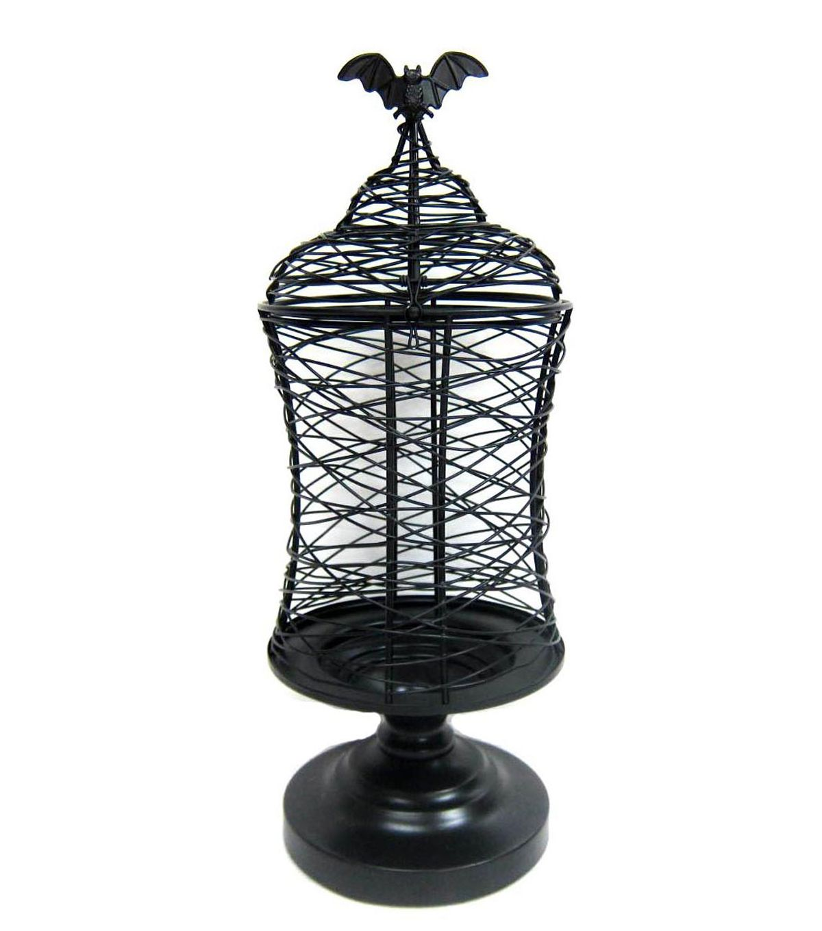 Maker\'s Halloween Scribble Wire Table Decor-Bat Cage | House ...