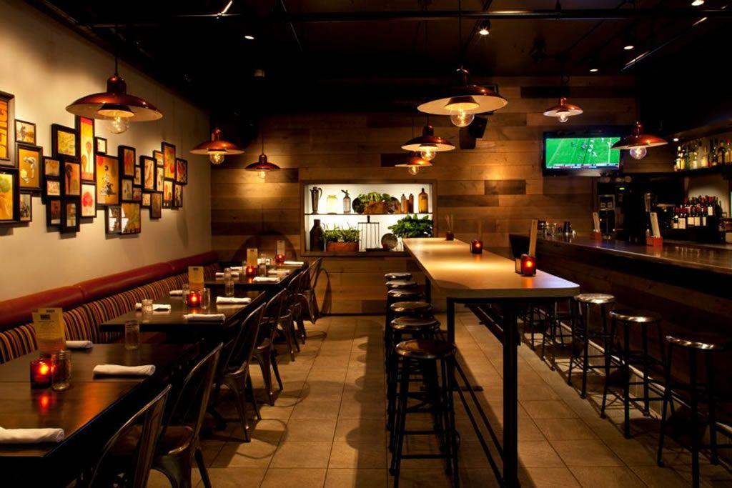 Restaurant Dining Room Interior Design of Barlo Kitchen Bar and ...
