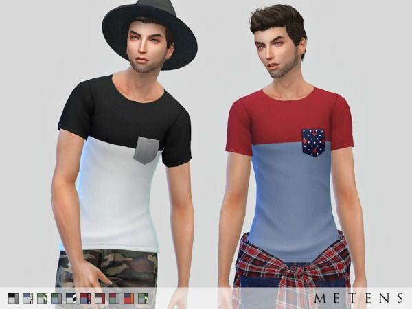 The Sims Resource: Scavo T-shirt by Metens • Sims 4