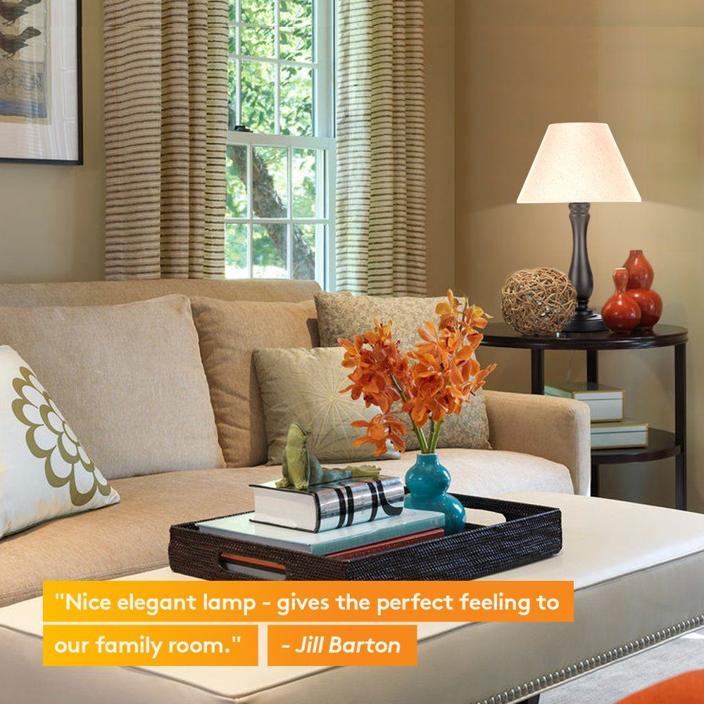 Brightech Noah LED Side Bedside Table HomeOffice Side
