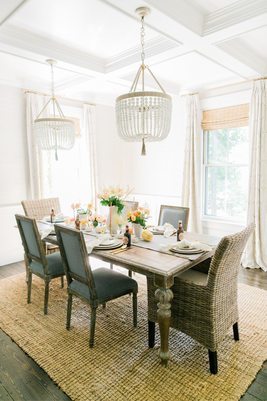 Eclectic Home Tour - Finding Lovely -   14 room decor Dining ceilings ideas