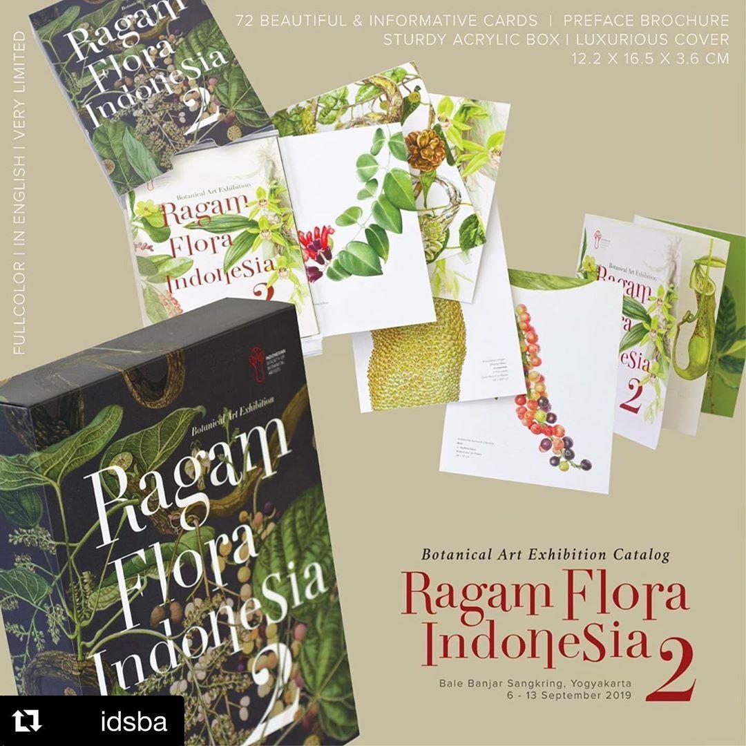 Katalog Pameran Seni Botani RAGAM FLORA INDONESIA 2 Seni