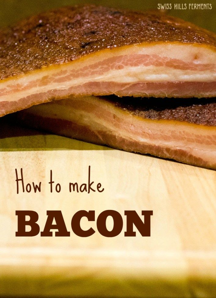 how to make your own bacon bits