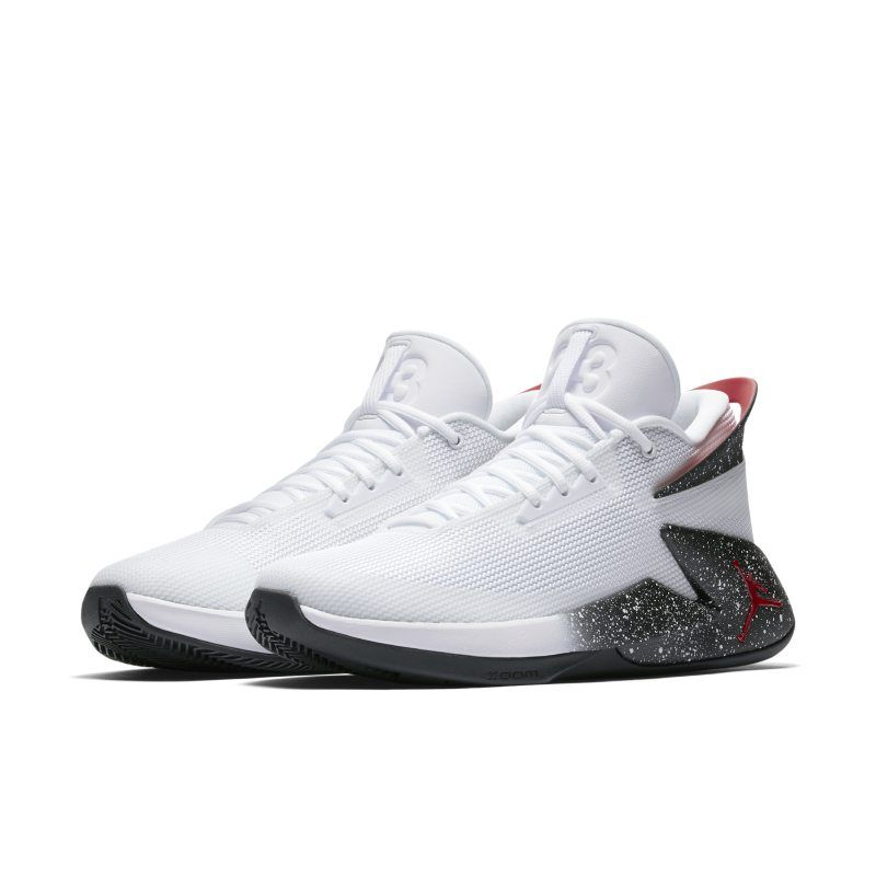 brand new 33494 68698 Jordan Fly Lockdown Men s Basketball Shoe - White