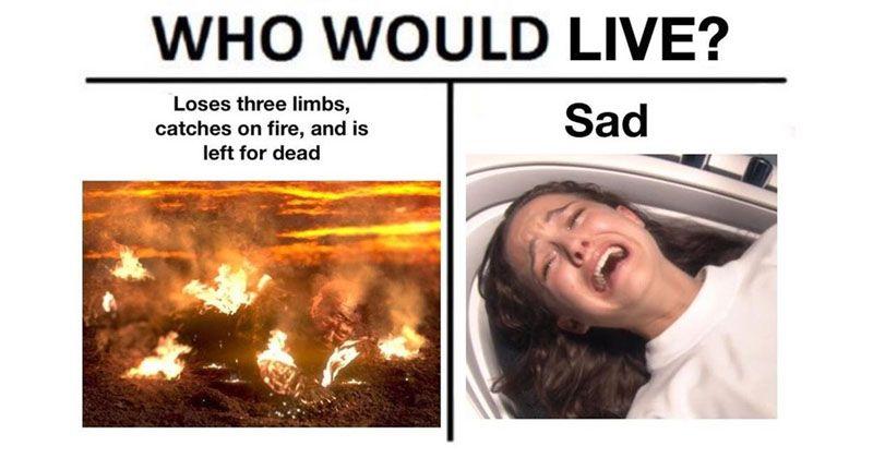 50 Hilarious Memes To Celebrate Star Wars Prequels Day Prequel Memes Star Wars Quotes Star Wars Memes