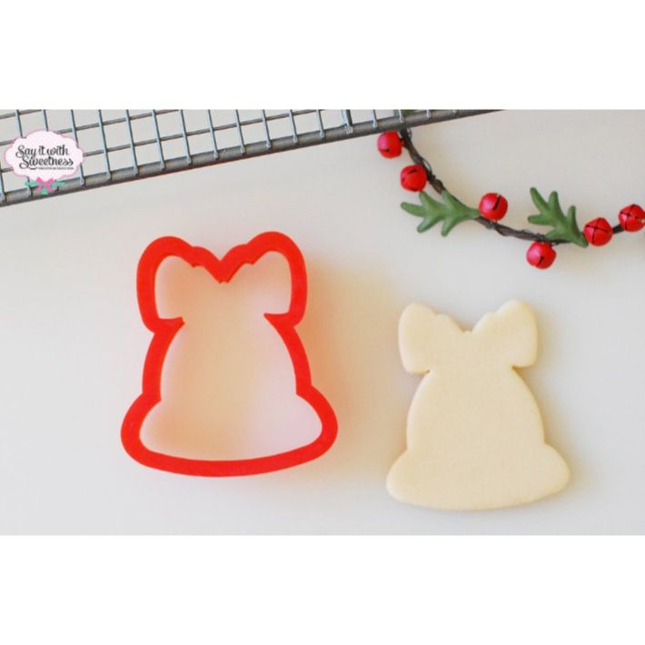 Bell  Bow cookie cutter wwwsayitwithsweetnessau Our Sweet