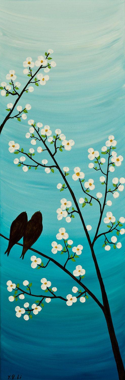 Relaxing calming beautiful pinteres for Simple easy paintings