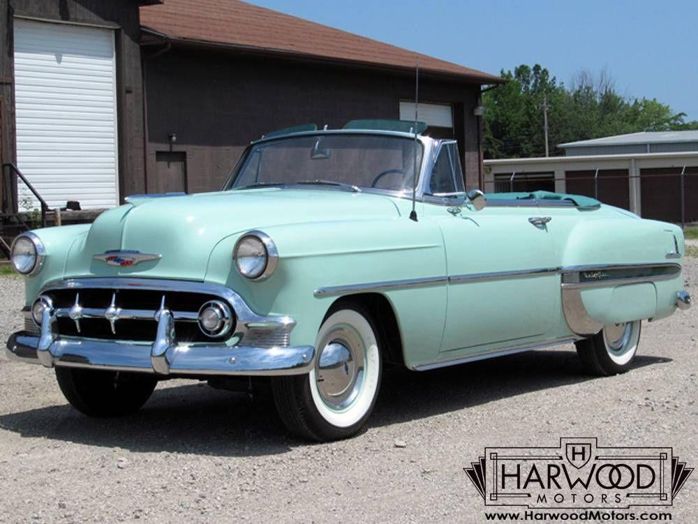 Perfect 1953 Chevrolet Bel Air Convertible