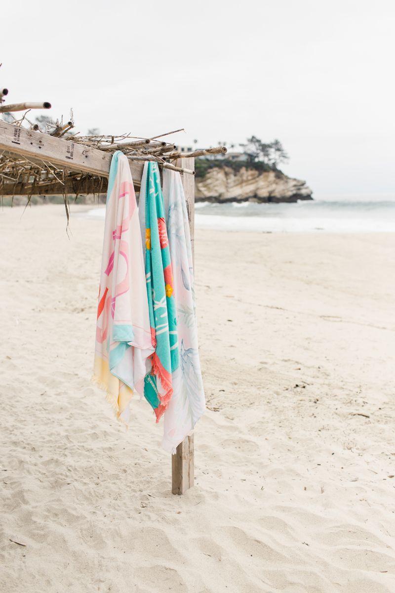 The Big One Stripe Beach Towel Beach Towel Towels Sale Towel