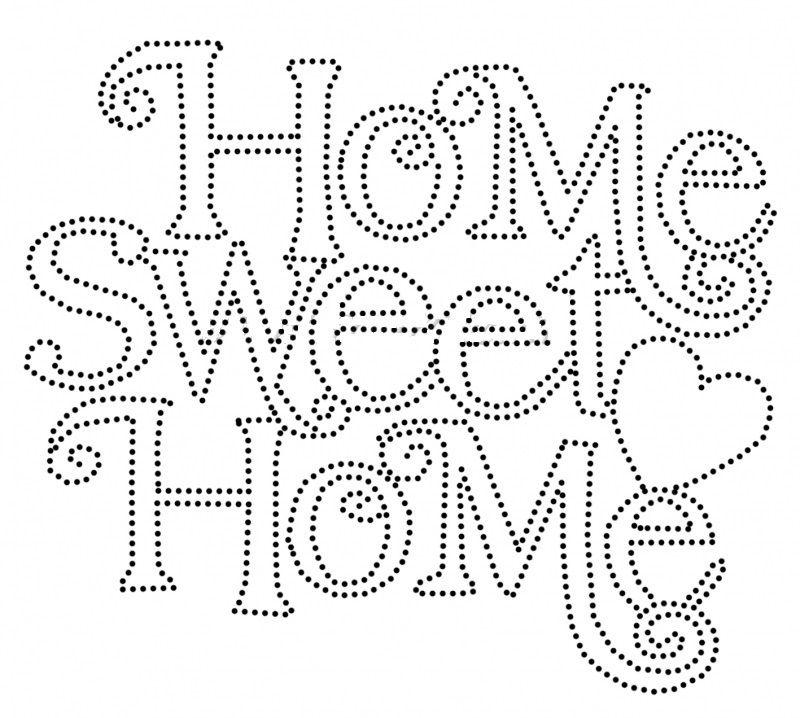 Resultado de imagen de sweet home plantilla arte con clavos y hilo home string art template maxwellsz