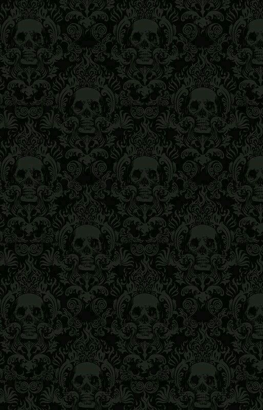 Buy Skull Damask Wallpaper By Jimiyo As A IPhone Case Skin Or Samsung Galaxy