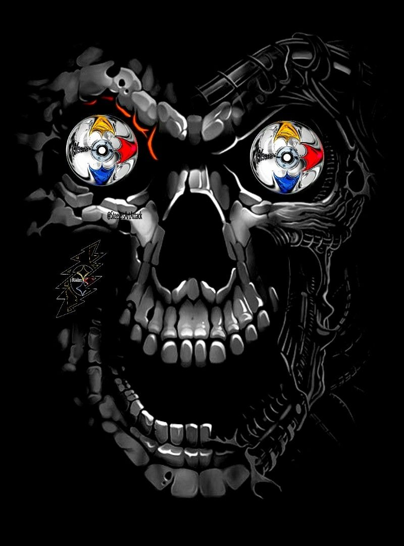 skull steelers shirt Google Tìm kiếm in 2020
