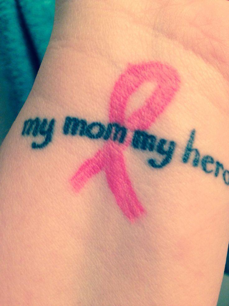 Pin On Cancer Hope Tattoo On Wrist