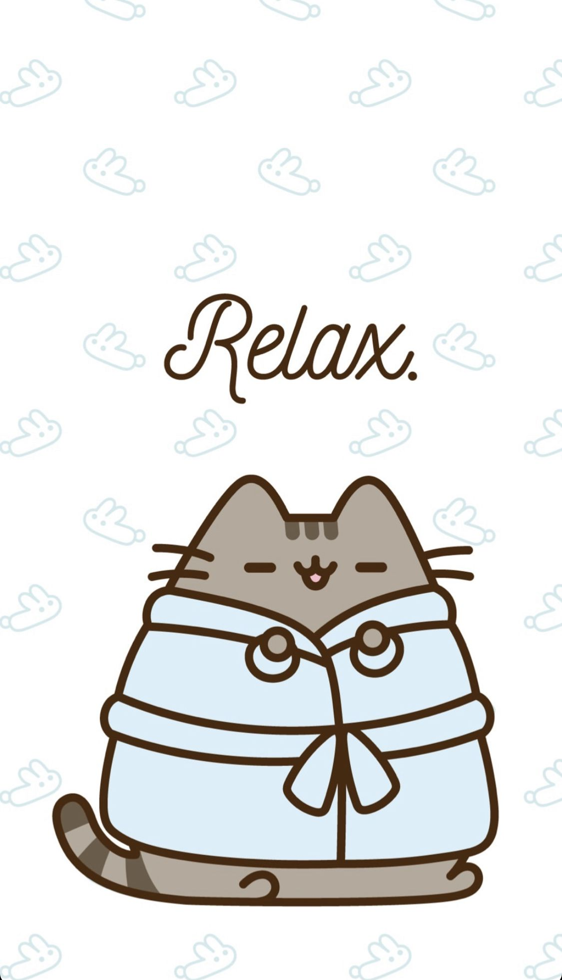 Relaxing Pusheen Wallpaper Pusheen Cute Pusheen Pusheen Stickers