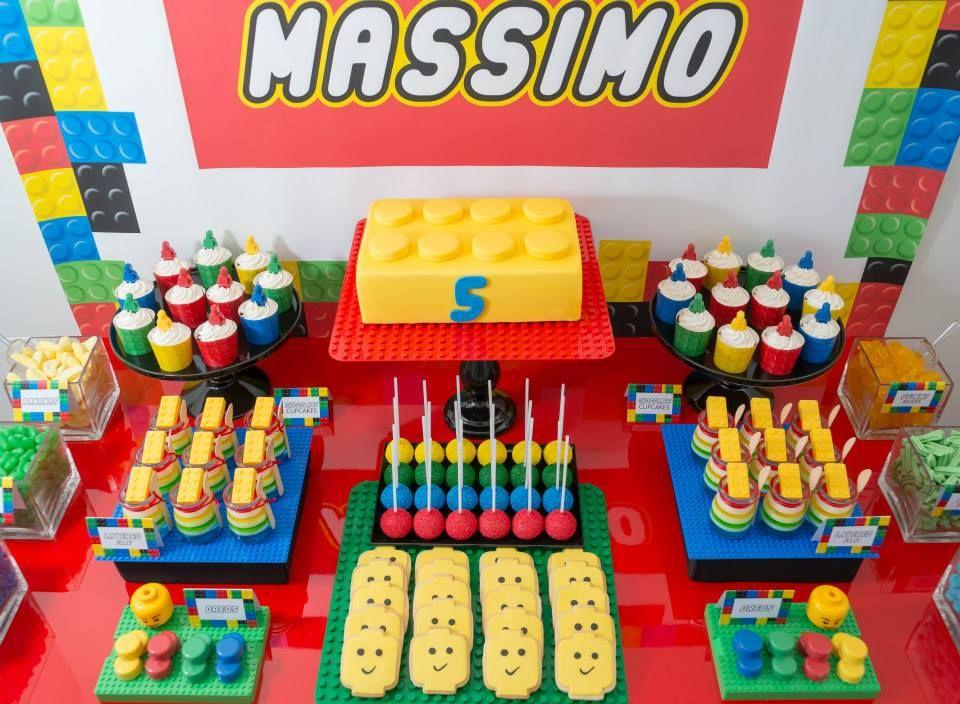 Pin by Meg Gleason on events | Pinterest | Lego birthday party ...