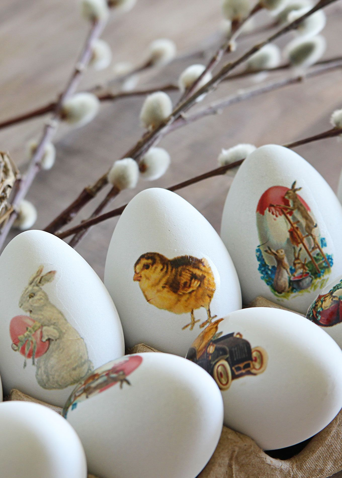 Diy Easter Egg Temporary Tattoos Vintage Style Easter Eggs Diy