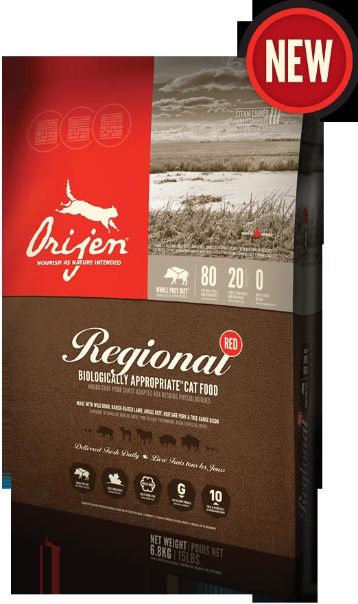 ORIJEN Regional Red is a symphony of fresh Angus beef