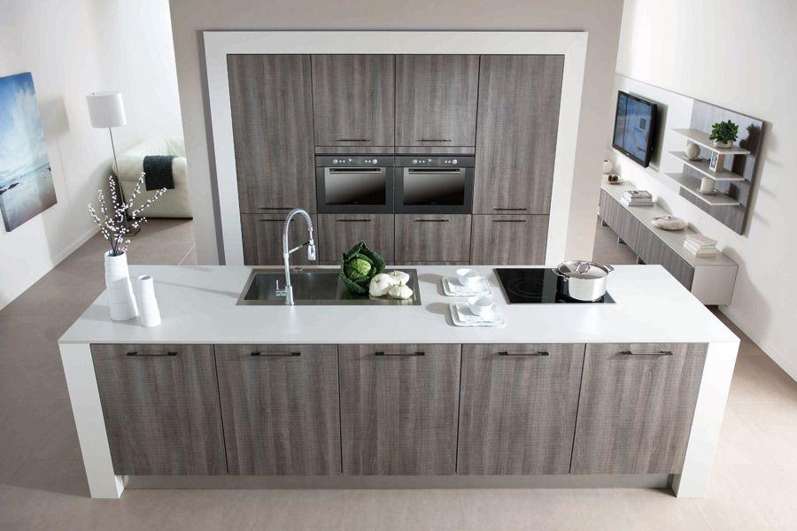 Un nouveau d cor pour la cuisine arcos de schmidt for Salon cuisine ouverte 40m2