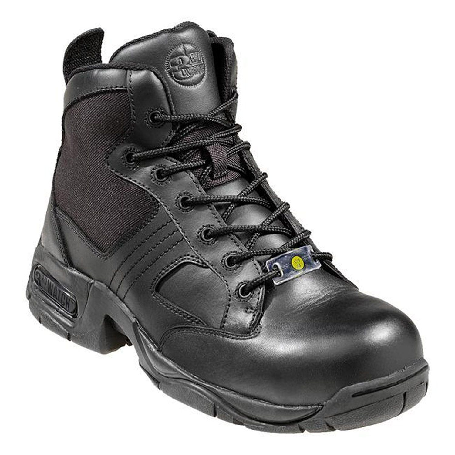 Nautilus Boots Women's Composite Toe Black Work Boots