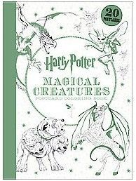 Harry Potter Magical Creatures Postcard Coloring Book Stationery