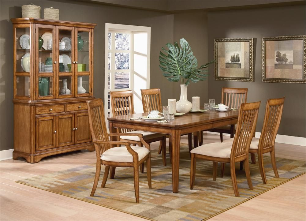 Classic Modern Oak Dining Room  Google Search  Furniture Gorgeous Oak Dining Room Table 2018