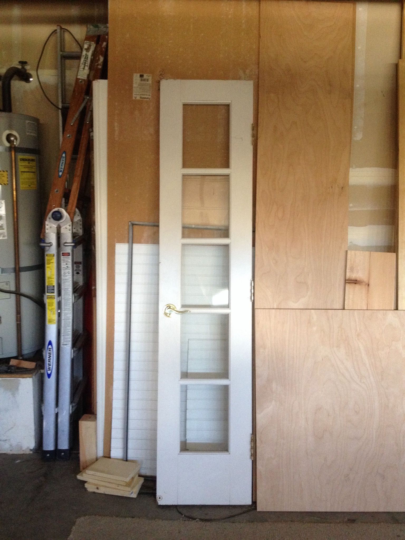 One of the 18 inch French doors found on Offerup | DONE 5/7