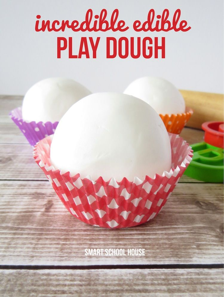 How To Make Edible Play Dough With Frosting Edible Playdough Easy Playdough Recipe Playdough