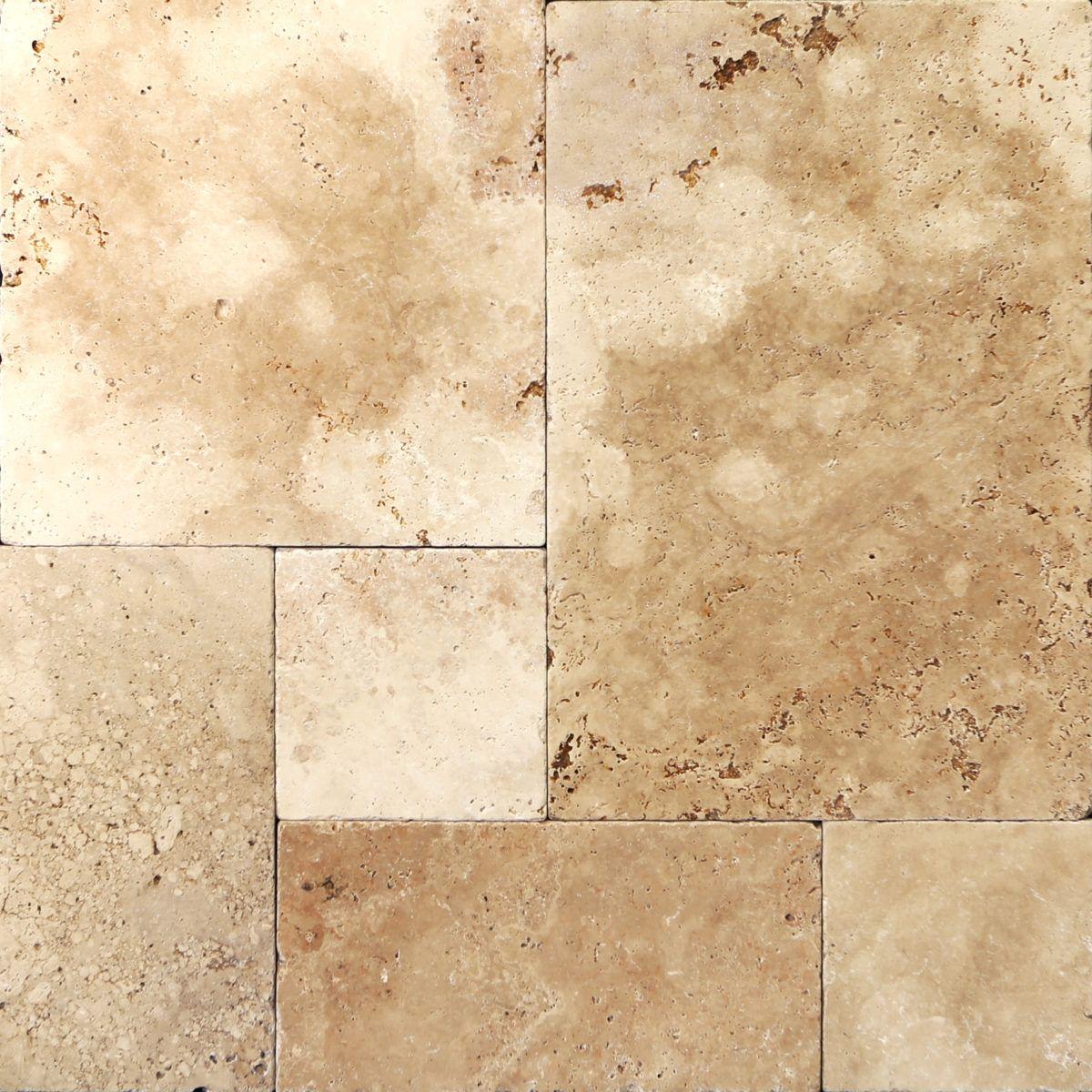 Tumbled aspendos travertine floor tiles nextsoft