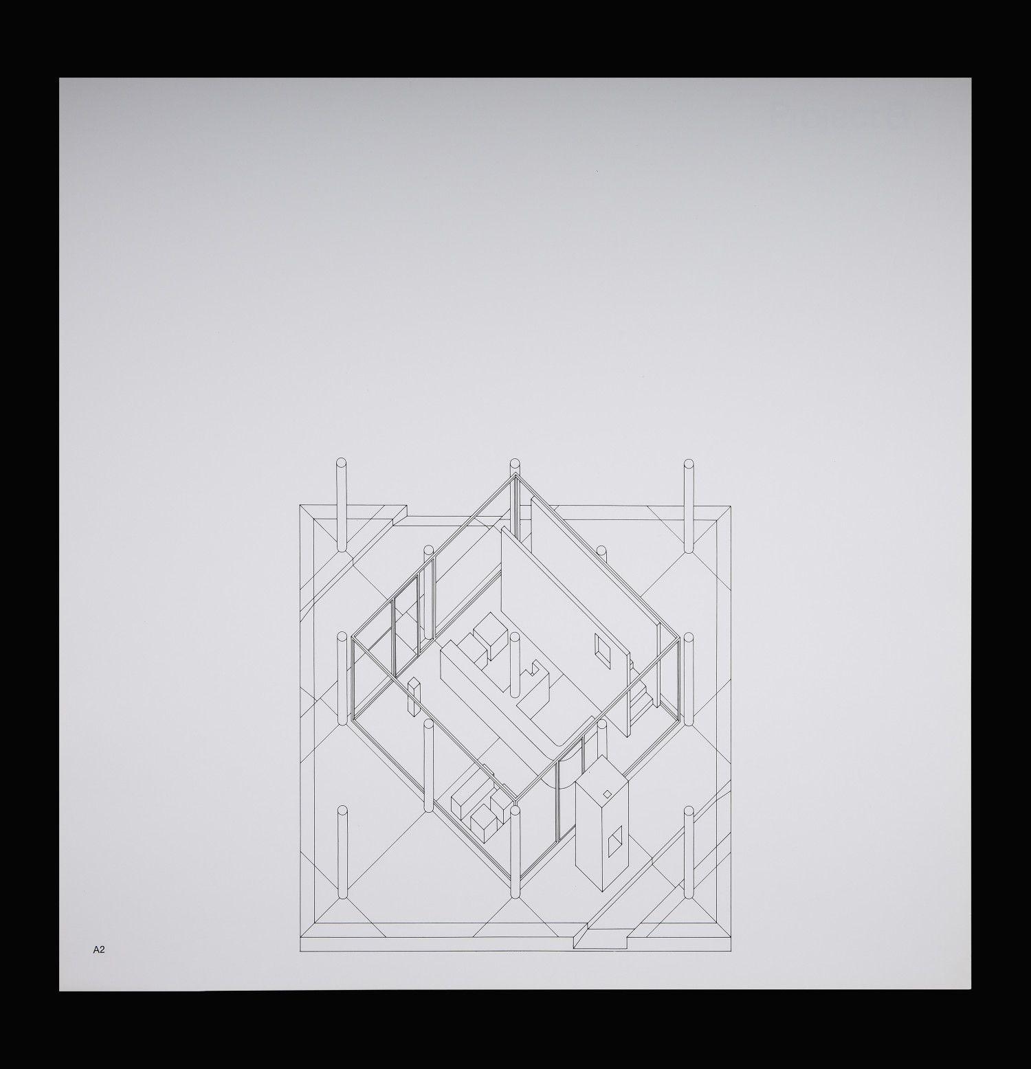 John Hejduk: From Three Projects, 1969 | Drawing Matter