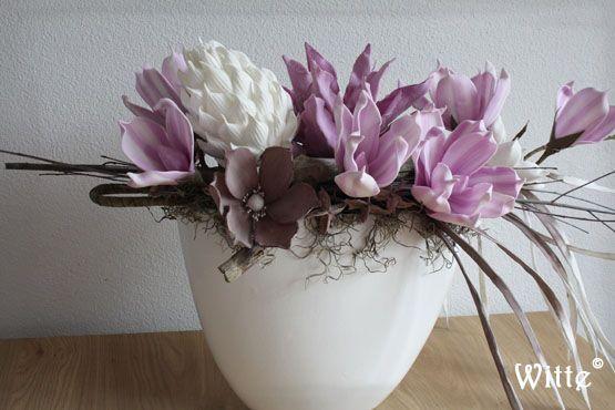 Mooi bloemstuk opmaken google zoeken home pinterest for Bloemen decoratie