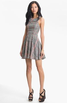 shopstyle.com: Lush Tank Cutout Skater Dress (Juniors)