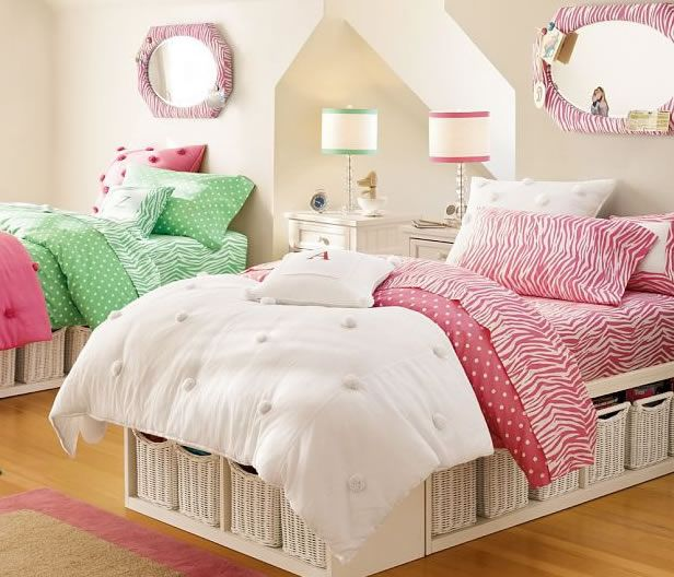 PBTeen Zebra Print Teen Bedroom Idea Photo