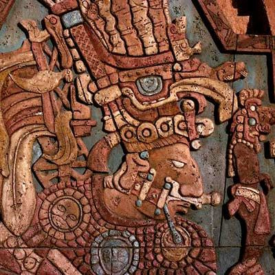 Mayan Art. Not sure where this is from. Any ideas ...