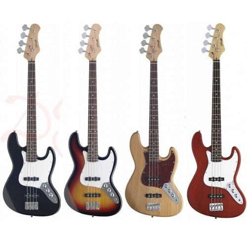 Stagg Standard \'Jazz\' Electric Bass Guitars - The Stagg B300 ...