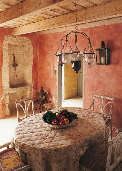 Si quieres que tu casa de campo se integre m s en el - Como pintar una casa rustica ...