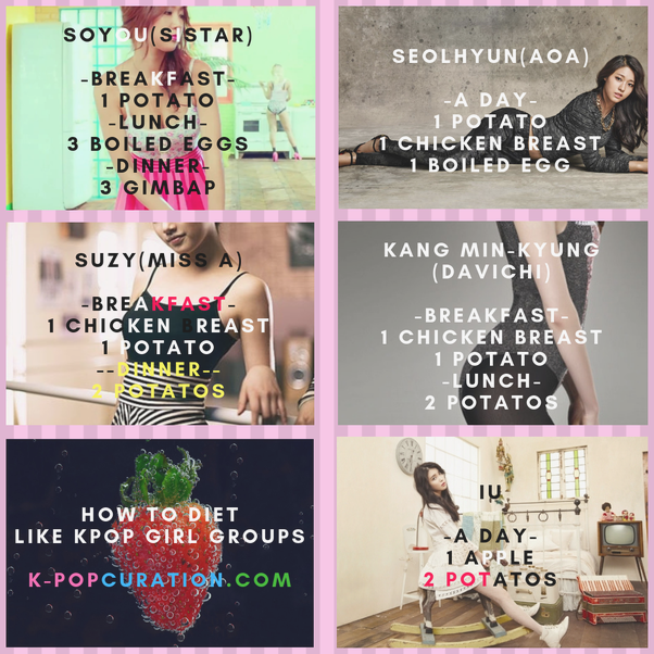 What Are Some Good And Easy Kpop Diets Quora Diet Easy Korean Koreandiet Kpop Diet Diet Diet Motivation