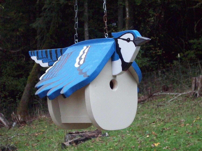 blue jay bird houses   Unique bird houses   Pinterest   Blue jay ...