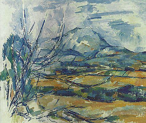 La Montagne Sainte Victoire 1890 94 Paul Cezanne Edimbourg