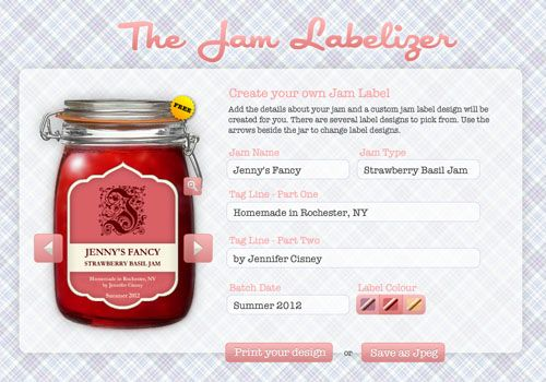 The Jam Labelizer!! Very handy and cool! | DIY Projects | Jam jar