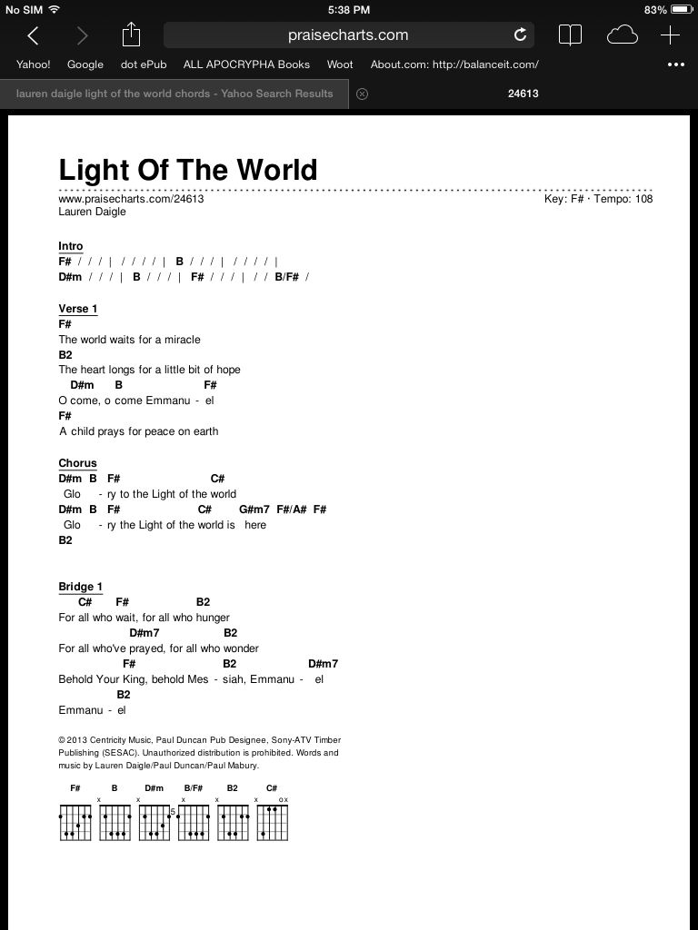 Light of the world chords piano lessons pinterest piano light of the world chords hexwebz Gallery