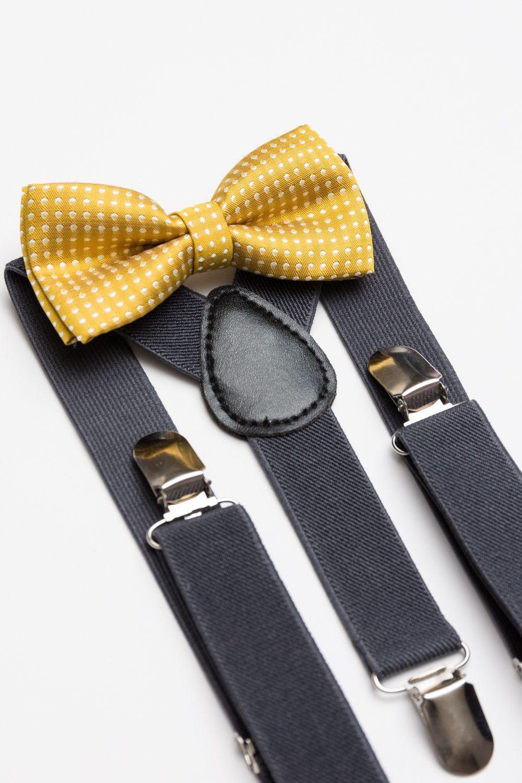 Bow Tie & Suspender Set