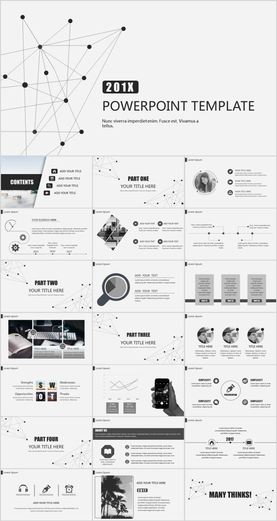 22 Best gray Business Design PowerPoint templatesThe highest quality PowerPoint Templates and Keynote Templates download