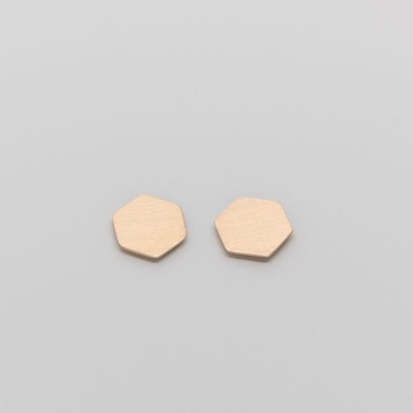Photo of fejn jewelry Ohrstecker 'Satin Hexagon'