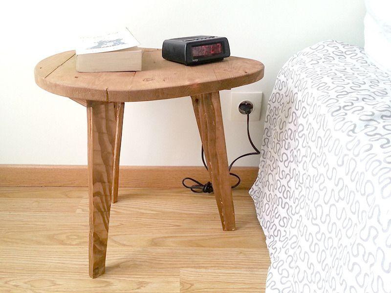 table de chevet petite table basse en bois de